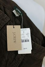 J Crew Brown Corduroy A Line Skirt Cotton 0 XS Extra Small New Tags $48 Womens