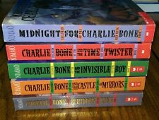Lot of 5 CHARLIE BONE Jenny Nimmo Midnight Twister Invisible Castle King 1-5