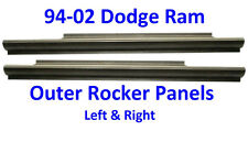 1994 -02 Dodge Slip-On Rocker Panel Set, Regular & Club Cab, Ram Truck Pair!