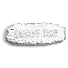 10 oz Tombstone Silver Nugget Bar - Certificate of Authenticity - SKU #84776