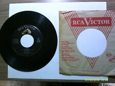Old 45 RPM Record - RCA Victor 47-5871 - Eddie Fisher - Fanny / Count Your Bless