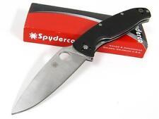 Couteau Spyderco Resilience Plaquettes G10 Lame Acier 8Cr13Mov SC142GP