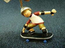 Ornament Central Skateboarder Christmas Ornament NEW w tag (h1029)