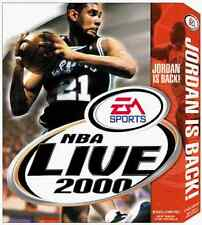 EA Sports NBA Live 2000 Basketball Game for Windows PC CD-ROM (1999)