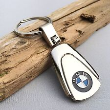 NEW BMW LOGO CHROME ALLOY KEYCHAIN KEY-CHAIN Key Ring KC034