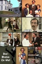 TV FRIDGE MAGNET - FAWLTY TOWERS