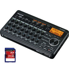 Tascam DP-008EX 8-Track Digital Studio Portable SD Recorder with Built-in Mics