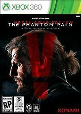 XBOX 360 - METAL GEAR SOLID THE PHANTOM PAIN - BRAND NEW - FREE SHIPPING TRACKIN
