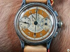 Rare Freshly Serviced Vintage Mercury 3 button Chronograph Telemeter Dial Watch