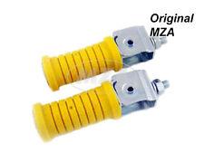 MZ KIT Reposapiés sozium cinc amarillo plateado ETZ250 ETZ25 ETZ301 Motocicleta