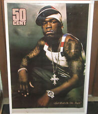 50 CENT POSTER SUPER RARE NEW RAP TOO RICH DIE TRYIN