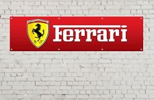 FERRARI BANNER workshop, garage, office or showroom pvc banner