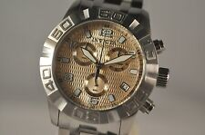 New Mens Invicta 11455 Pro Diver Grand Swiss Chronograph Steel Watch