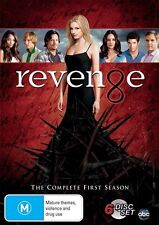 Revenge : Season 1 (DVD, 2012, 6-Disc Set) TV SERIES - REGION 4 -ONLY $2 POSTAGE