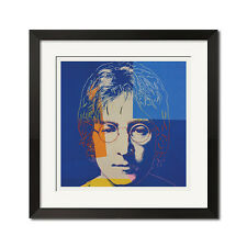John Lennon x Andy Warhol Pop Art The Beatles Portrait 27x27 Poster Print