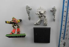 2 Epic 40K WARHOUND SCOUT TITAN Metal Imperial Army Titans 1980s PE1