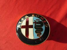 Alfa Romeo GTV Spider 916 Heck válvulas emblema/Heck emblema objeto en cuestión 60779250 nuevo