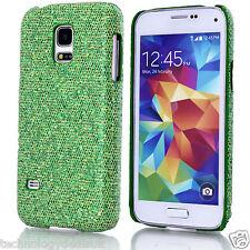 Chrome Sparkle Case for Glitter Bling Hard Cover Samsung Galaxy S2 S3 S4 S5 Mini
