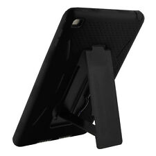 case cover shockproof armor skin rugged +stand +screen for apple ipad mini 1 2 3
