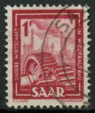 Saar 1949-51 SG#266, 1f Heavy Industries Definitive Used #A81211