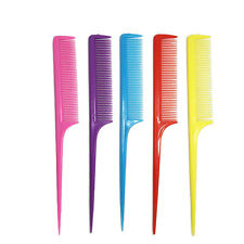 10pcs/Lot Hairdressing Hair Comb Make Care Styling Pointed Rat Tail Combs Hot