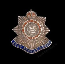 Silver & Enamel Great War Army Service Corps Sweetheart Brooch Hallmarked 1915