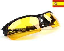 Gafas vision nocturna UV 400 Protección Goggle Noche Visión Amarillo ref14
