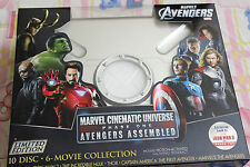 Marvel Cinematic Universe: Phase One - Avengers_BluRay_Brand New_Factory sealed