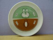 israel naaman Porcelain small plate Gemini & Cancer zodiac sign  vtg hebrew