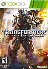 NEW Transformers: Dark of the Moon (Microsoft Xbox 360, 2011)