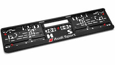 Genuine Audi Sport Number Plate Surround / Holder