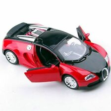 1/36 Bugatti Veyron W/Sound Light Diecast Car Toy Model Vehicle Gift No Battery