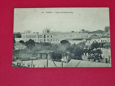CPA CARTE POSTALE 1915 COLONIES FRANCE MAROC MAGHREB TANGER PALAIS MULEY-HAFID