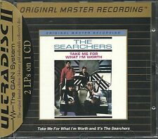 Searchers Its the Searchers & Take me for w...2 on 1 MFSL Gold CD mit J-Card