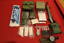 SURVIVAL GEAR LIFE STRAW WATER FILTER COMPASS KNIFE FIRST AID KIT MILITARY EDC