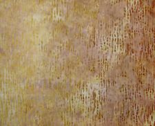 """Bali Batiks CREAM YELLOW & BROWN 100% cotton fabric 22"""" x 18"""" larger available"""