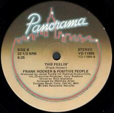 "Frank Hooker & the Positive People - This Feelin' (2 trk 12"" / 1980)"