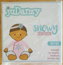 New JuDanzy Baby Girls Gift Box Diaper Cover Set Newborn, Damask (B9P34)