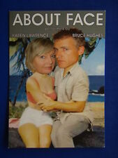 ABOUT FACE - KAREN LAWRENCE BRUCE HUGHES - ADVERT