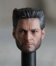 Custom Hugh Jackman Wolverine 4.0 1/6 Head Sculpt for Hot Toys Body Logan