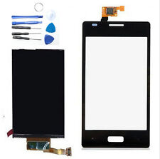 Black Touch Screen Digitizer + LCD Display Monitor For LG Optimus L5 E610 E612