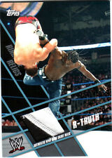 WWE R-Truth Topps 2011 Ringside Relics Event Used Ring Skirt Relic Card
