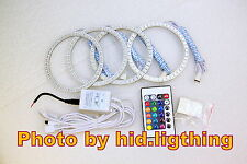 BMW Angel Eye RGB Multi-Color LED SMD E46 3 series 2D 2 Door Coupe 2DR Facelift