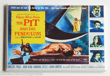 Pit and the Pendulum FRIDGE MAGNET (2 x 3 inches) movie poster edgar allan poe