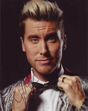 Lance Bass In-person AUTHENTIC Autographed Photo COA SHA #23044