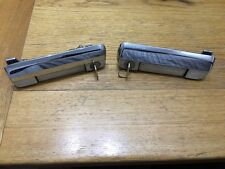 Cromodora Fiat 128 3p Coupe Pair of Genuine Door Handles with Keys 4260070 & 71