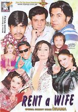 RENT A WIFE - NEW PUNJABI COMEDY STAGE DRAMA DVD - FREE UK POST