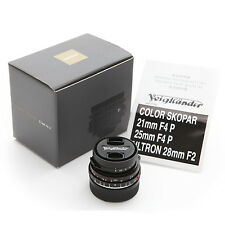 New Voigtlander Color-Skopar 21mm f/4 P VM lens for Leica M240 M9 M7 M6 MP ME