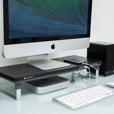 Computer Monitor Riser Laptop iMac Adjustable Stand Workspace Desk Organizer