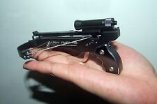 Mini Crossbow Shooting Toy 2015 Deluxe Set  Black - Made Aviation Aluminum Alloy